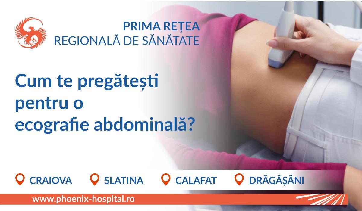 Cum te pregătești pentru ecografia abdominală?