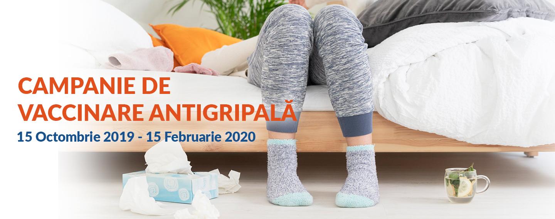 CAMPANIE DE VACCINARE ANTIGRIPALĂ 2019/2020